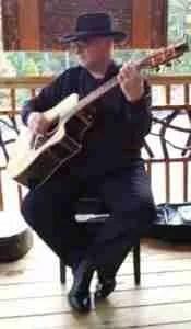 David Tippens - playing guitar