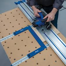 Track Saw Parallel Guide System