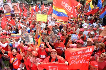 Hugo Chavez' Support