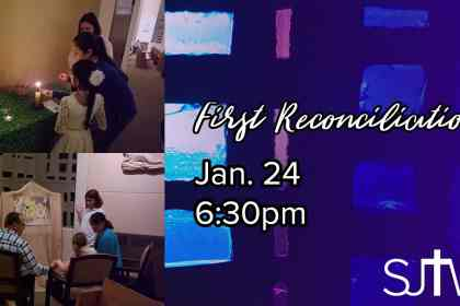 First Reconciliation 2019