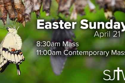 Easter Sunday Mass Times