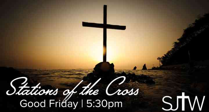 Stations of the Cross at 5:30pm
