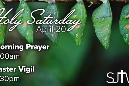Holy Saturday Service Times