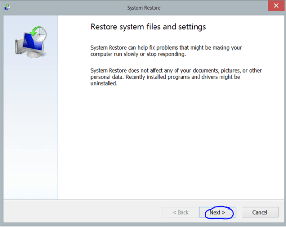 systemrestore, reset, restore, system, system restore windows 8, take windows 8 back in time, time machine windows 8, windows 8