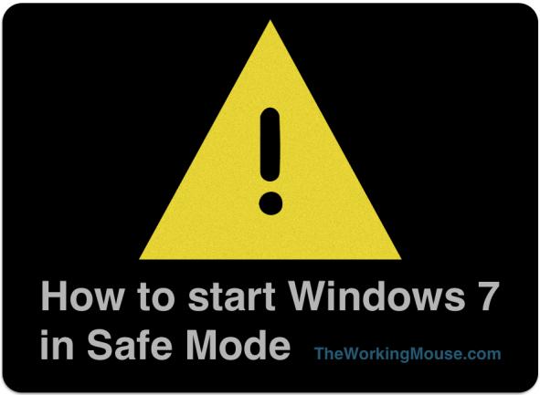 how to start windows 7 in safe mode, safe mode windows 7, boot to safe mode windows 7 safemode windows7