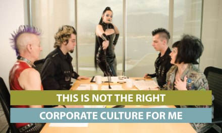 """This is NOT the right corporate culture for me"""