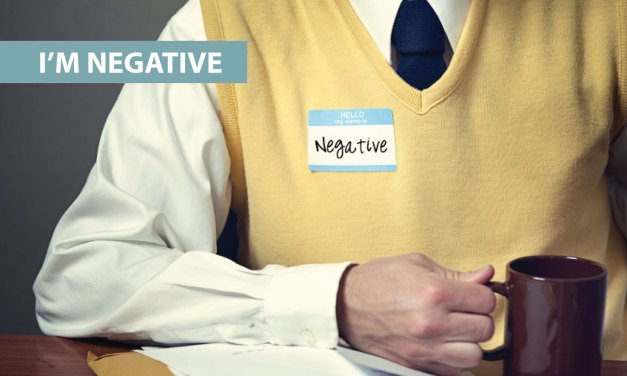 """I'm negative"""