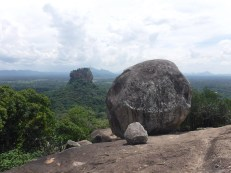 Top of Pidurangla with Sigiriya in the background