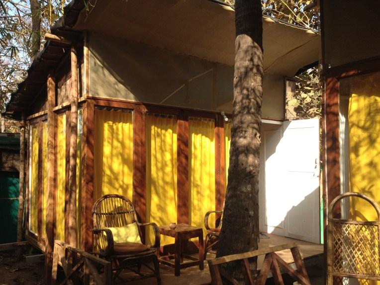 Our hut at Secret Garden