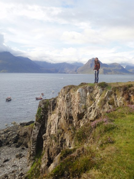 255 - Cliffs in Elgol