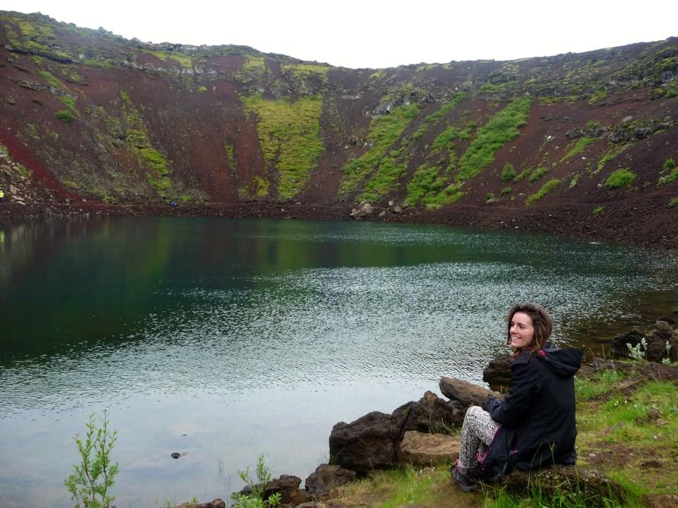 Kerit Volcano Crater