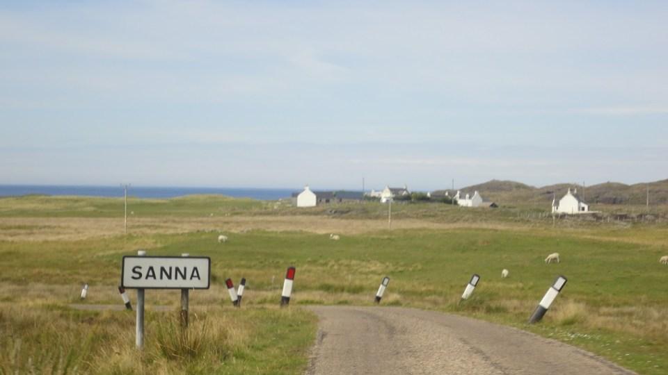 Sanna beach scotland