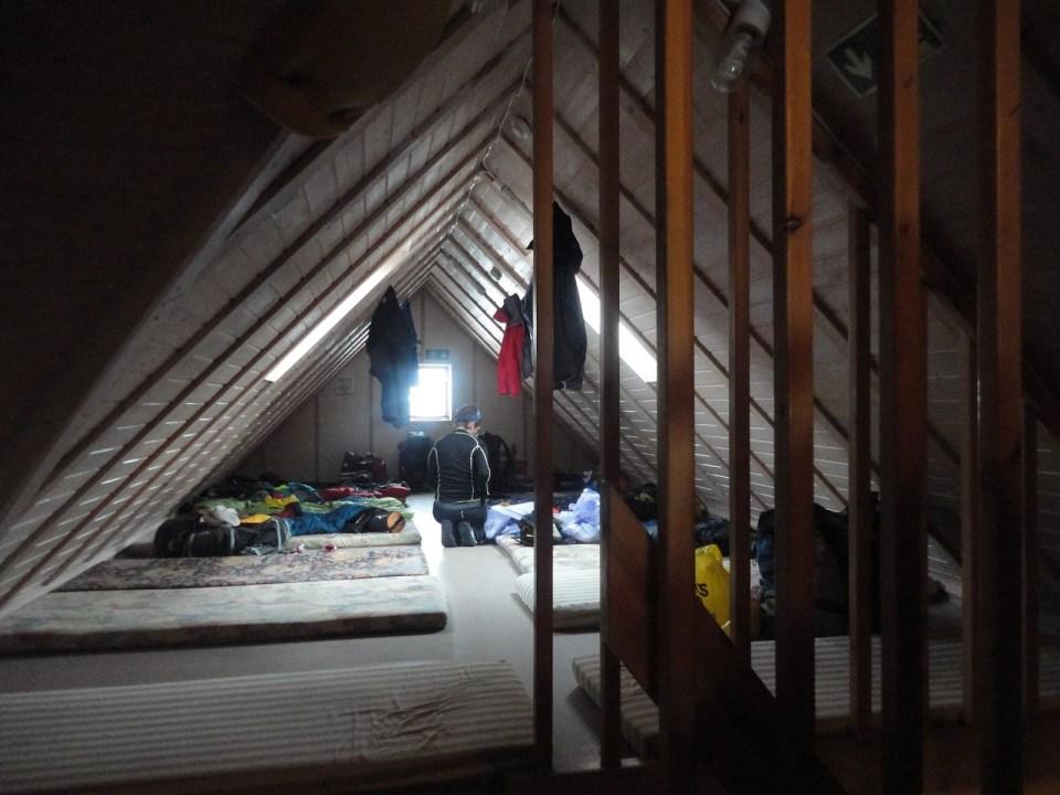 Hrafntinnusker huts