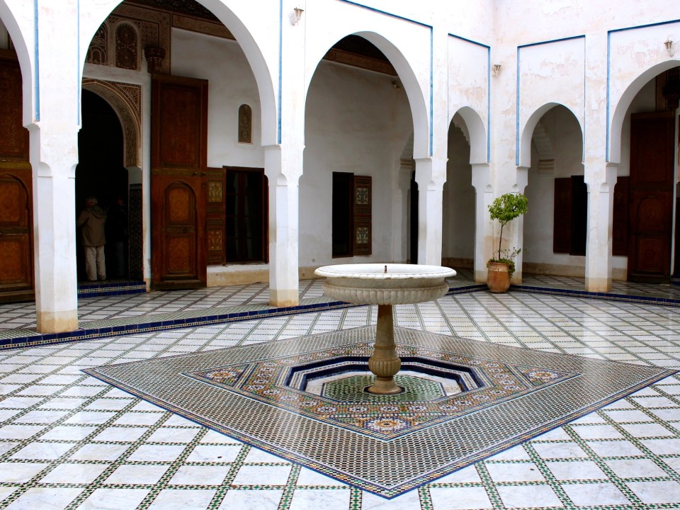 Bahia Palace's Courtyard