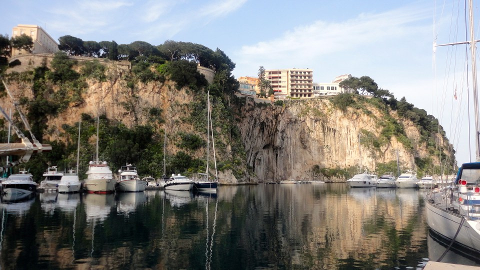 Monaco - Port de FontVieille