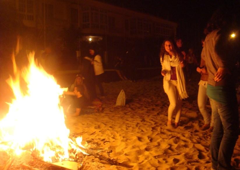 bonfire at the beach 3