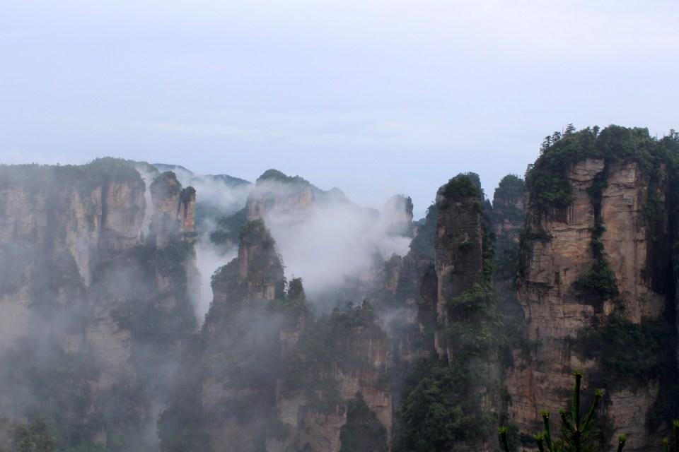 Hallelujah Moutains Zhangjiajie 4