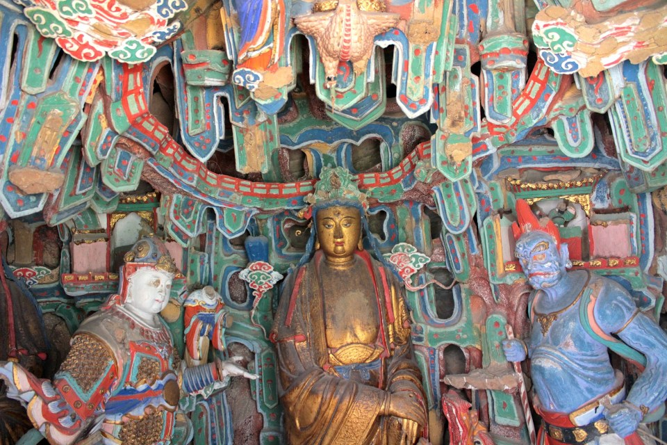 buddhism scultures