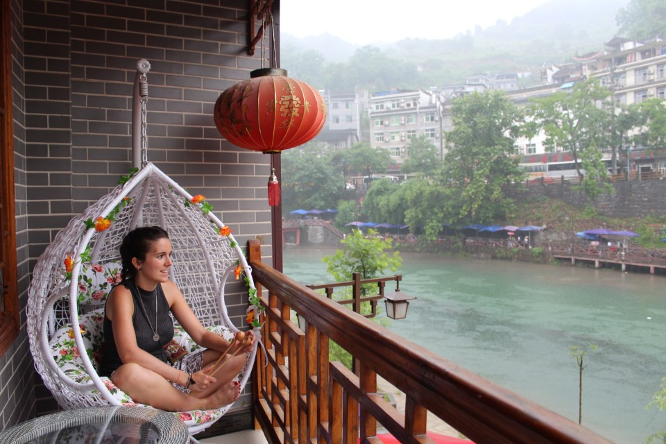 Fenghuang 1 balcony