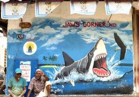 Jaw's Corner, Stone Town, Zanzibar, Tanzania, Africa