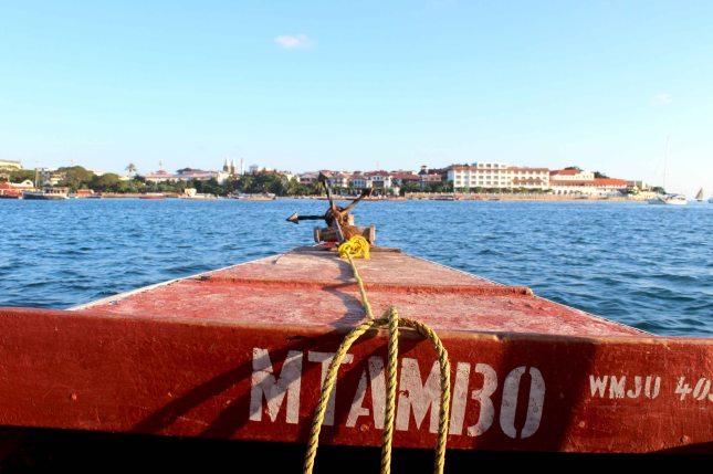 Zanzibar boat trip to Changuu Island