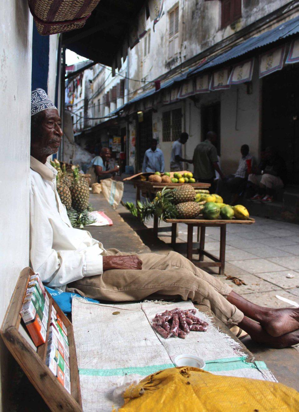 man Stone Town Zanzibar