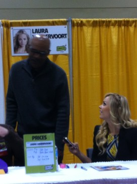 When Supergirl meets Worf