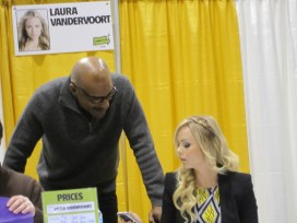 Worf and Supergirl