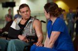 Michael Shanks as Charlie Harris and Erica Durance as Alex Reid