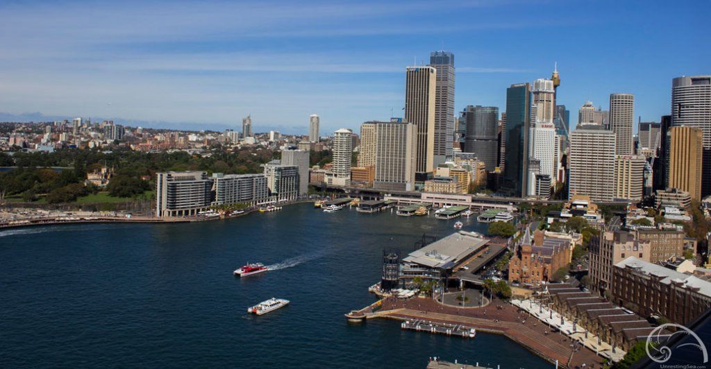 downtown Sydney & Circular Quay