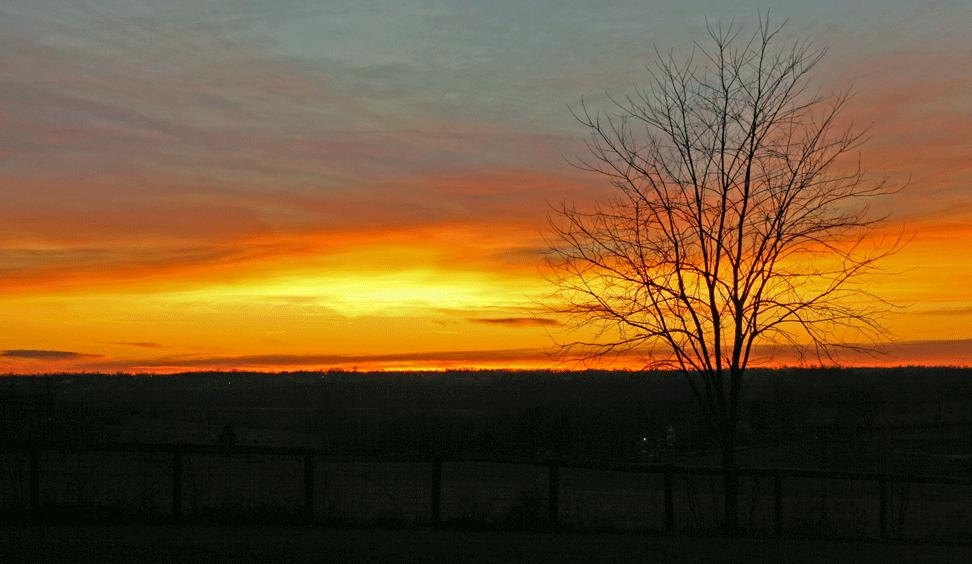 Kentucky-sunset