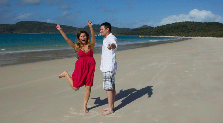 A Whitehaven Beach Proposal
