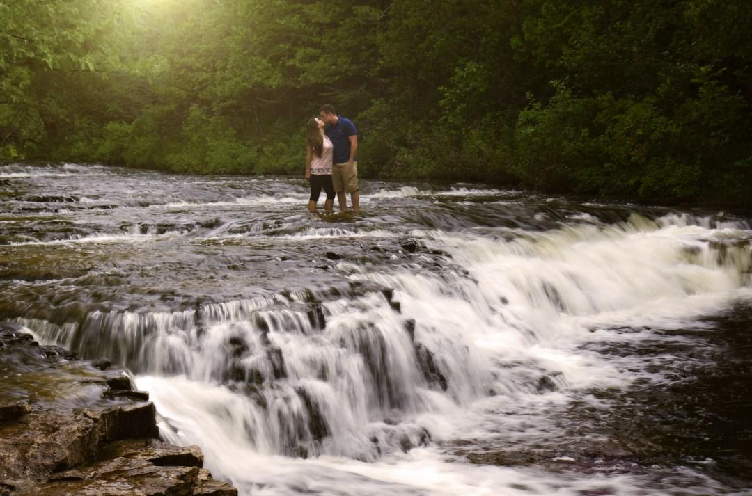 best weekend getaways - Ocqueoc Falls in Michigan