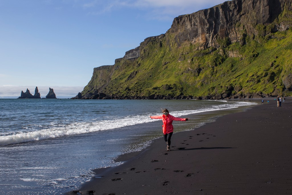 Day 2 stop on your Iceland itinerary: the black sand beaches of Vik