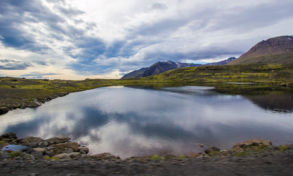 Day 3 stop of the Iceland itinerary: drive up F985 to enjoy the views.