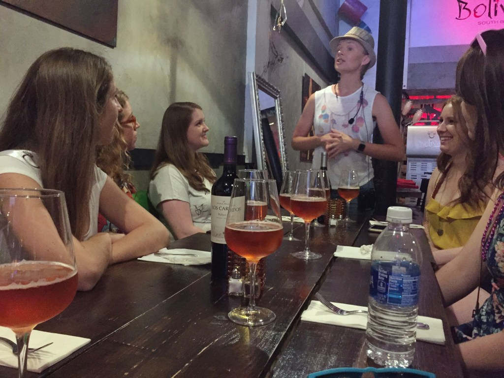 Food tour guide for Miami Culinary Tours