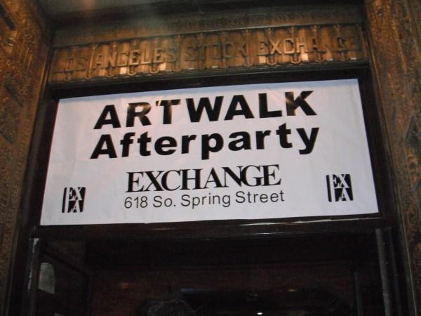 Lose Training Wheels Wings Downtown L. Art Walk Part 1 Theworldisacanvas