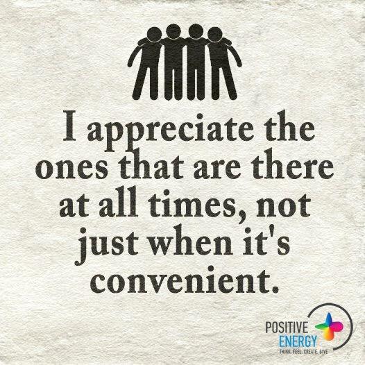 i appreciate the ones
