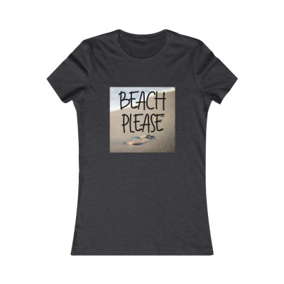 Beach Please | Women's Slim Fit Tee