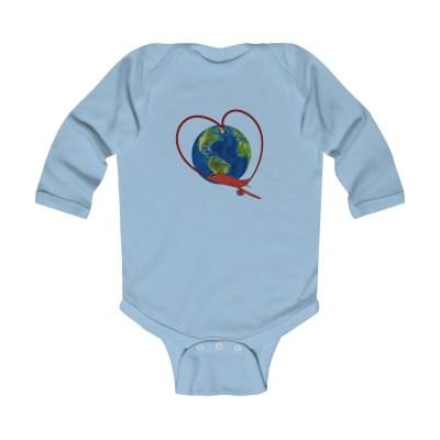 Love to Travel | Infant Long Sleeve Bodysuit