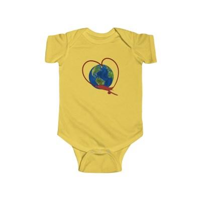 Love to Travel | Infant Bodysuit