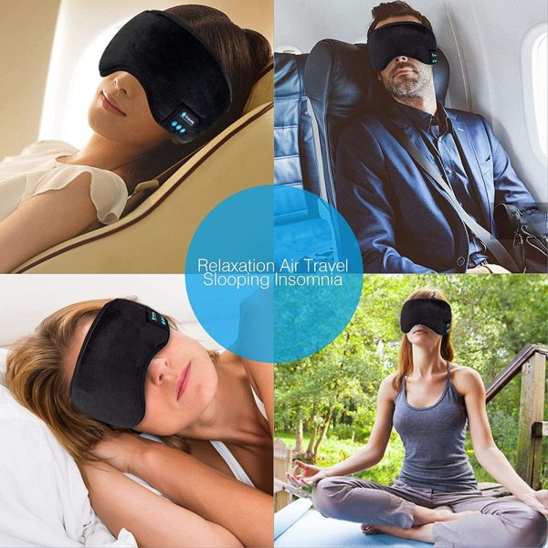 Sleep Mask with Built in Wireless Headphones