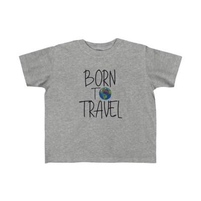 Born to Travel | Toddler Tee