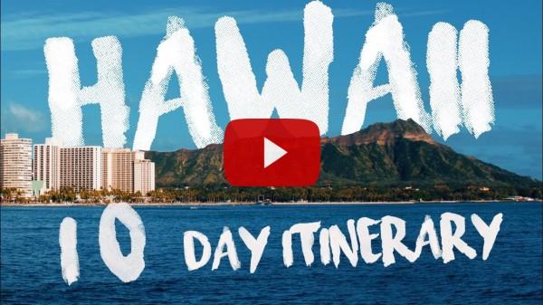 Hawaii 10 day itinerary