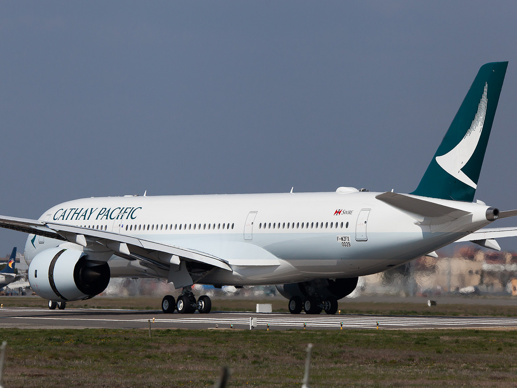 Cathay Pacific  The World of Aviation