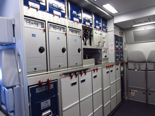 The rear galley