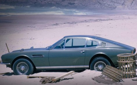 The DBS in ON HER MAJESTY'S SECRET SERVICE