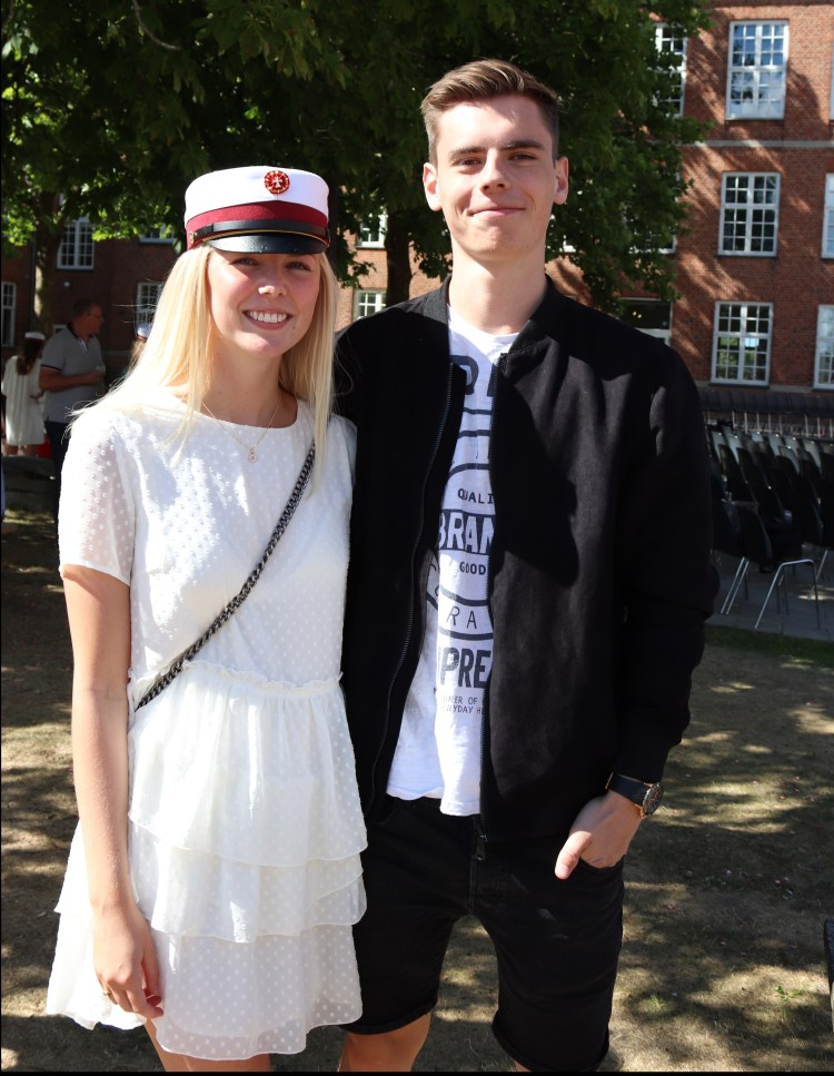 Danish graduation ceremony