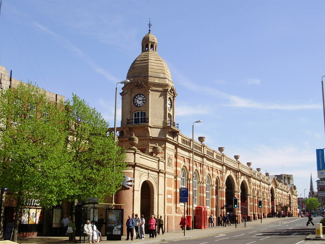 Leicester Rail Station