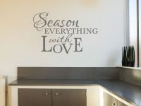 Kitchen Wall Quote Season Everything.. Wall Art Sticker ...
